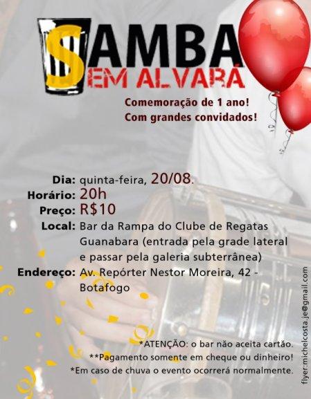 Samba sem Alvará